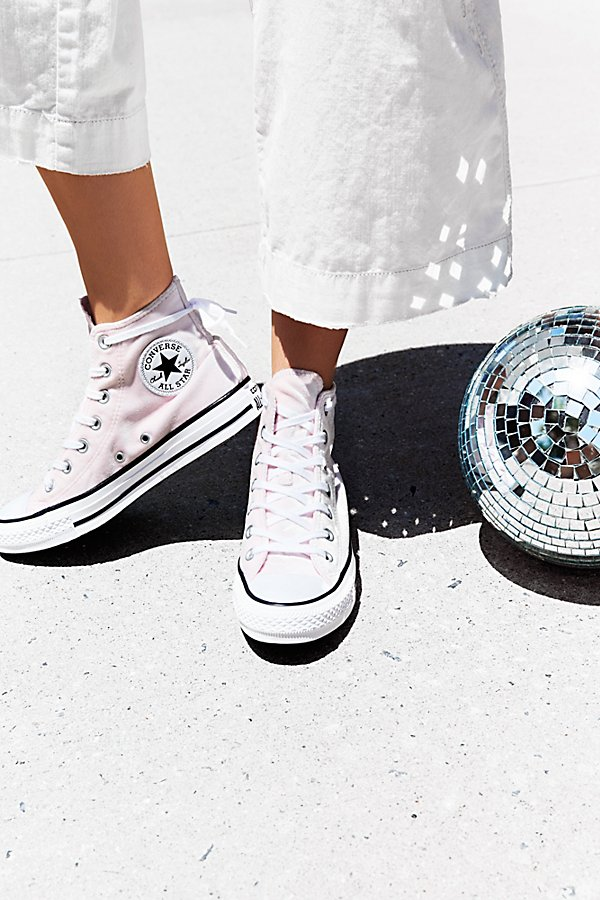 Velvet High Top Sneakers by Converse at Free People