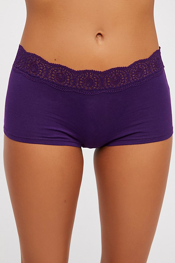 Slide View 3: Cotton Medallion Boyshorts