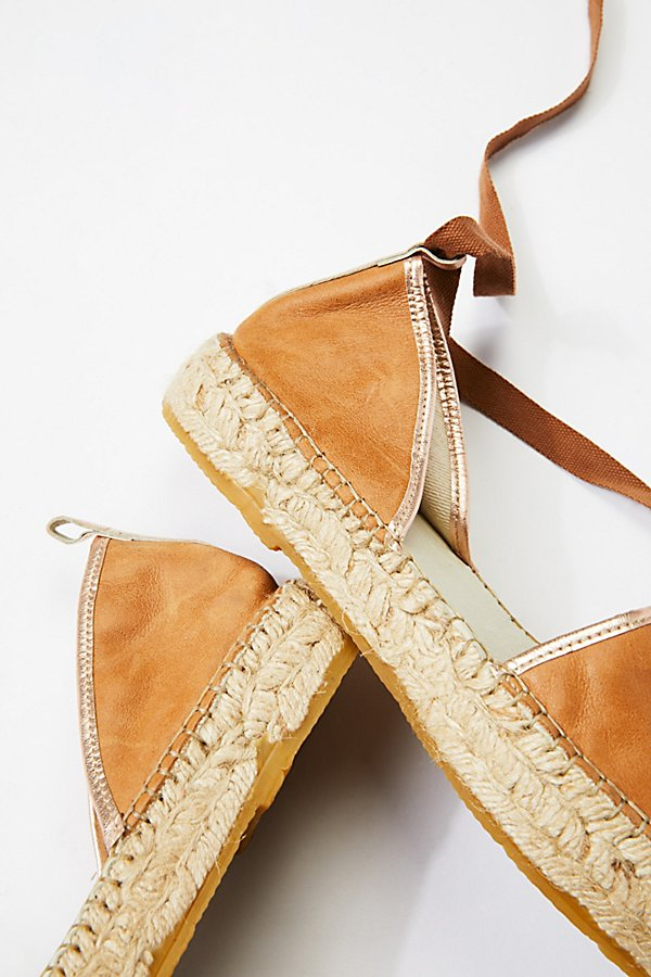 Slide View 4: Leather Paradise Espadrille