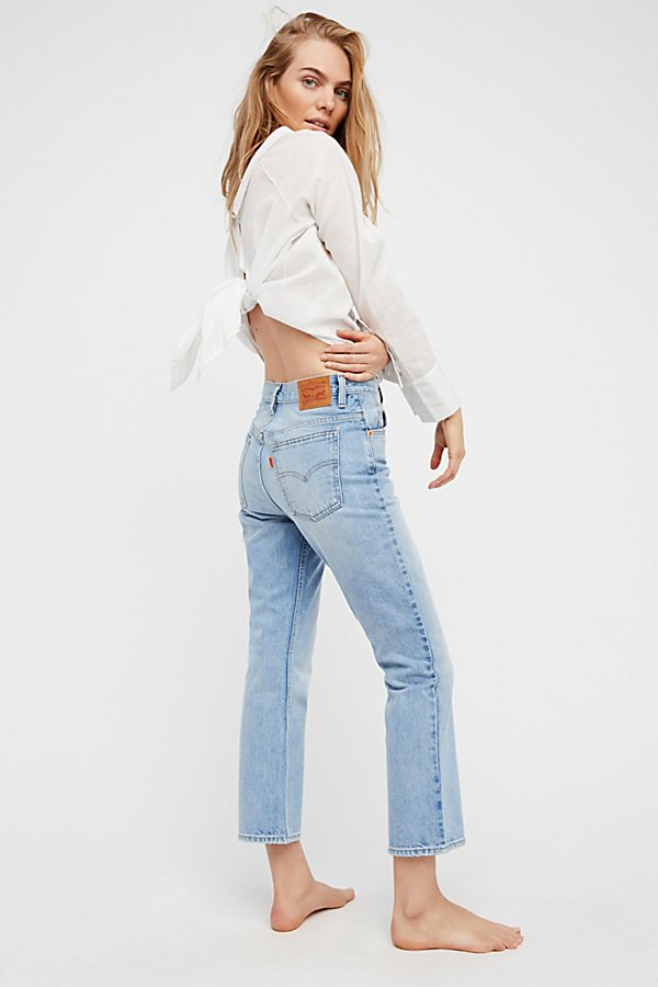 Slide View 1: Levi's 517 Cropped Boot Cut Jeans