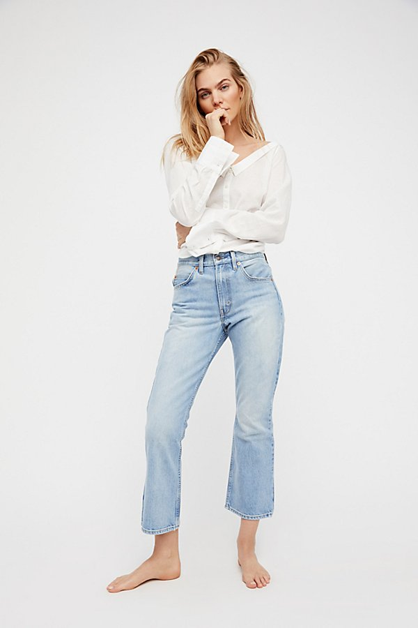 Slide View 2: Levi's 517 Cropped Boot Cut Jeans