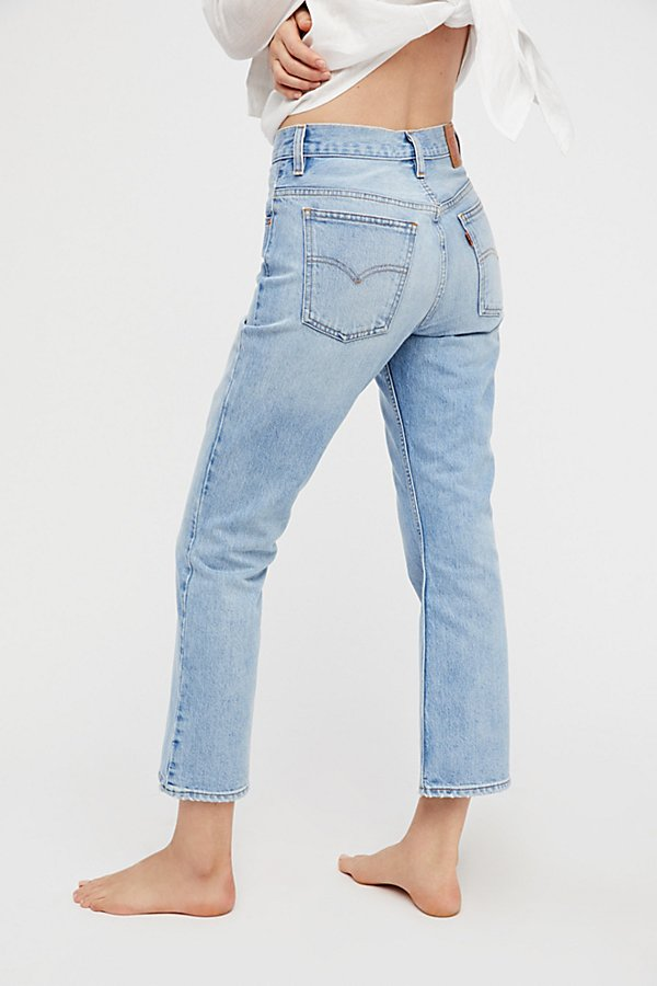 Slide View 3: Levi's 517 Cropped Boot Cut Jeans