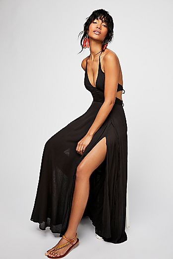 Black Going Out Dresses Evening Dresses Free People Uk