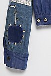 Thumbnail View 5: Vintage 1970s Patched and Studded Denim Jacket