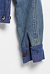 Thumbnail View 6: Vintage 1970s Patched and Studded Denim Jacket