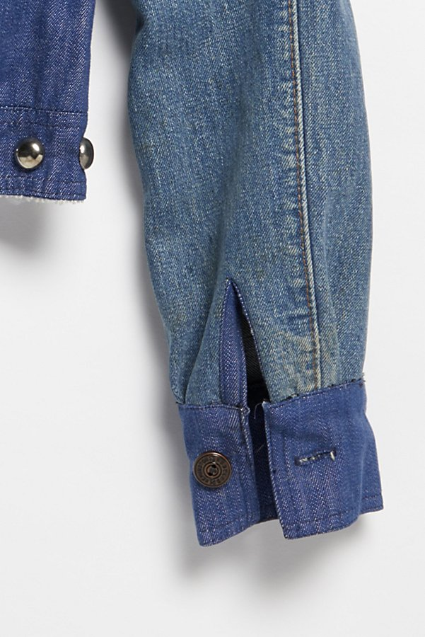 Slide View 6: Vintage 1970s Patched and Studded Denim Jacket