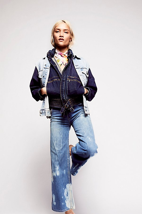 Slide View 1: Vintage 1970s Denim Jacket