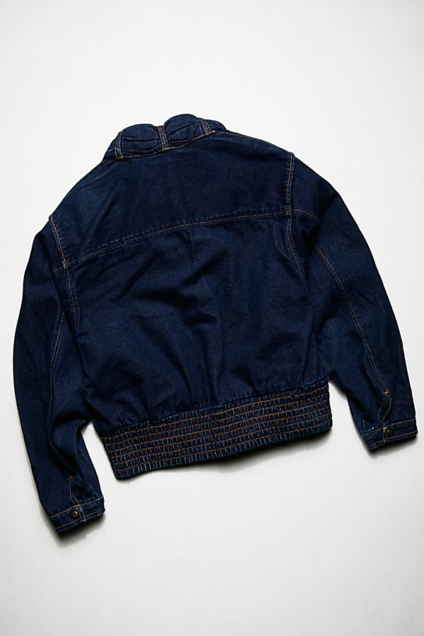 Slide View 3: Vintage 1970s Denim Jacket