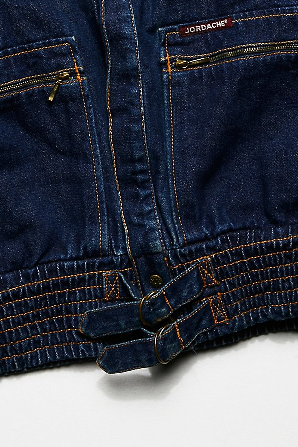 Slide View 4: Vintage 1970s Denim Jacket