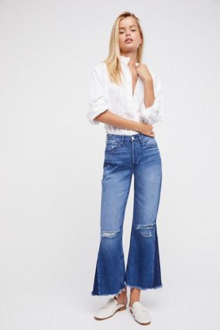 3x1 higher ground gusset crop jeans