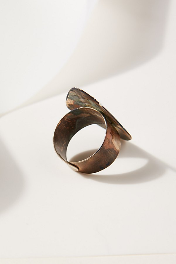 Slide View 2: Rhombus Patina Ring