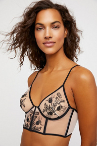 Slide View 1: Verona Embroidered Underwire Bra