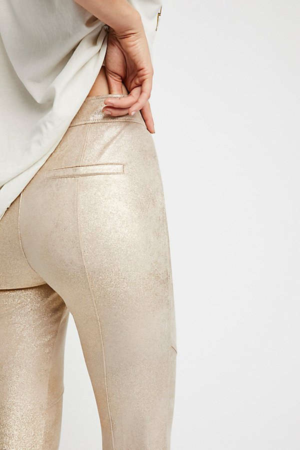Slide View 4: Vegan Suede Legging