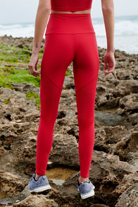 Slide View 3: High Rise Track Legging