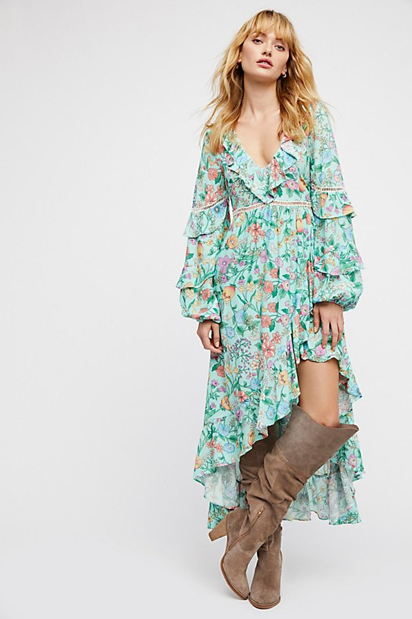Sayulita Frill Gown | Free People