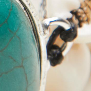 象牙玛瑙 / 合成绿松石