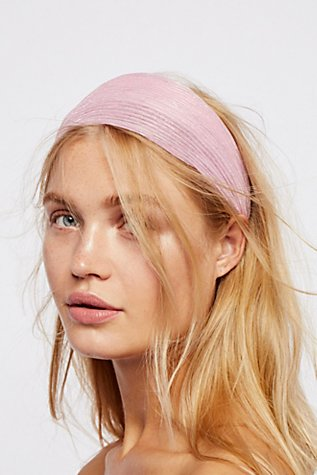 Slide View 1: Shimmer Gauze Headband
