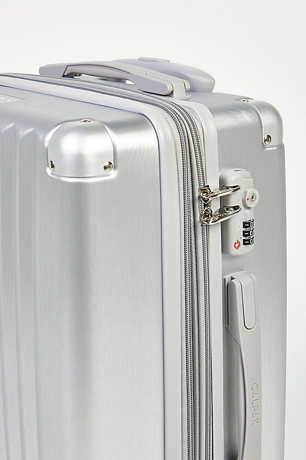 Slide View 5: Amber Brushed Metallic Carry-On