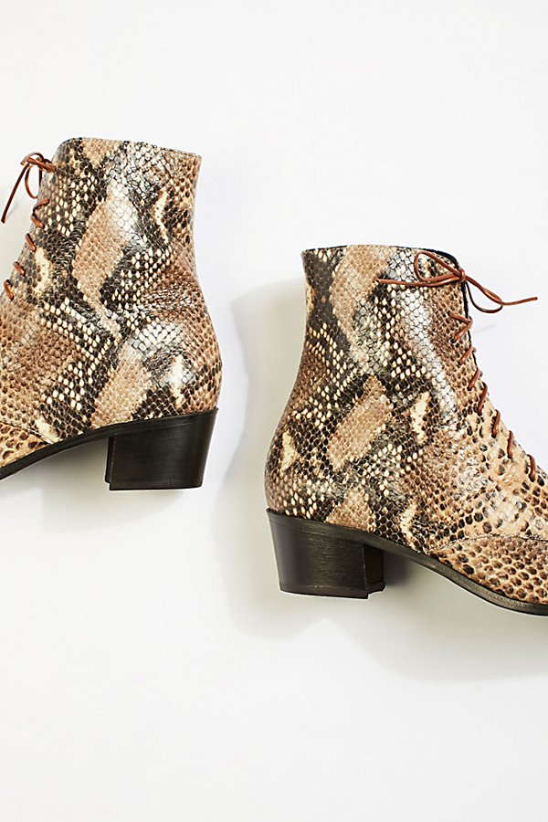 Slide View 4: Barrow Lace-Up Boots