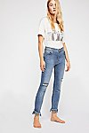 Thumbnail View 2: Great Heights Frayed Skinny Jeans