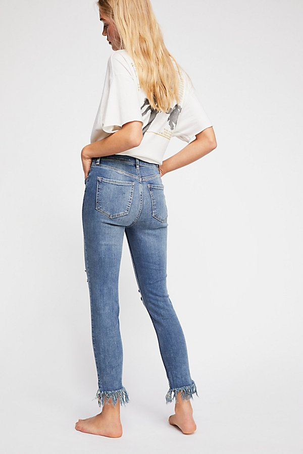 Slide View 3: Great Heights Frayed Skinny Jeans
