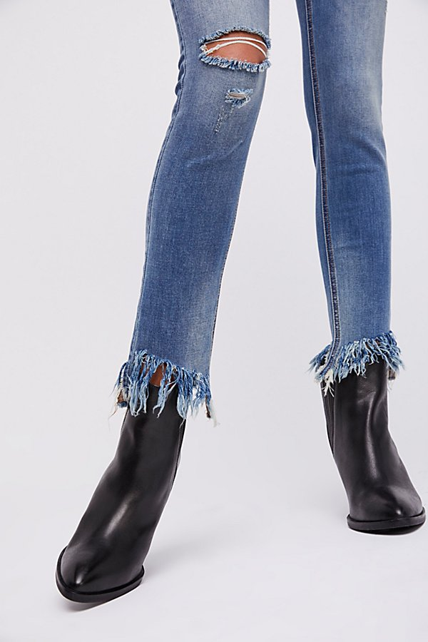 Slide View 6: Great Heights Frayed Skinny Jeans