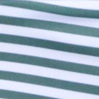 深橄榄色 / 白色条纹