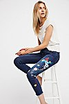 Thumbnail View 1: Embroidered Bird Jean
