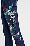 Thumbnail View 4: Embroidered Bird Jean