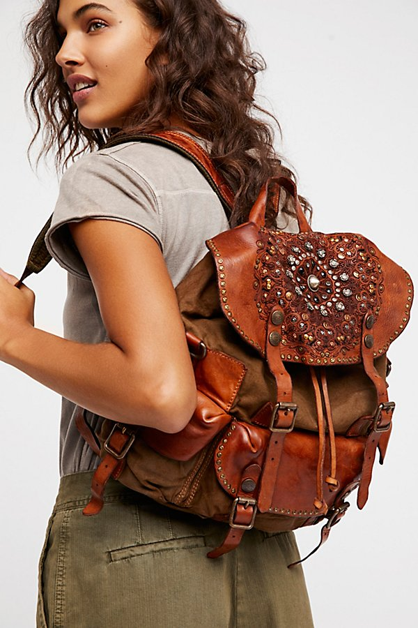 Slide View 1: Trieste Embellished Backpack