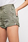 Thumbnail View 3: OneTeaspoon High-Rise Bandit Denim Shorts