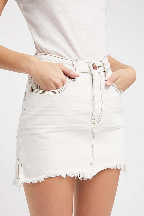 Slide View 3: OneTeaspoon 2020 High Waist Mini Skirt