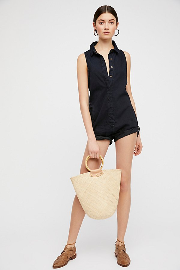 Slide View 4: Militaire Drill Playsuit