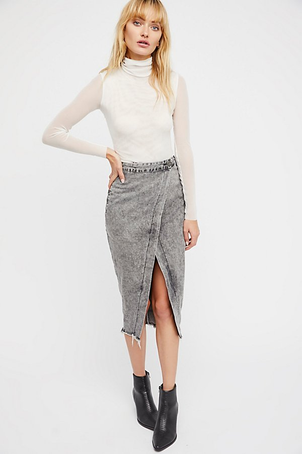 Society Wrap Skirt by OneTeaspoon at Free People