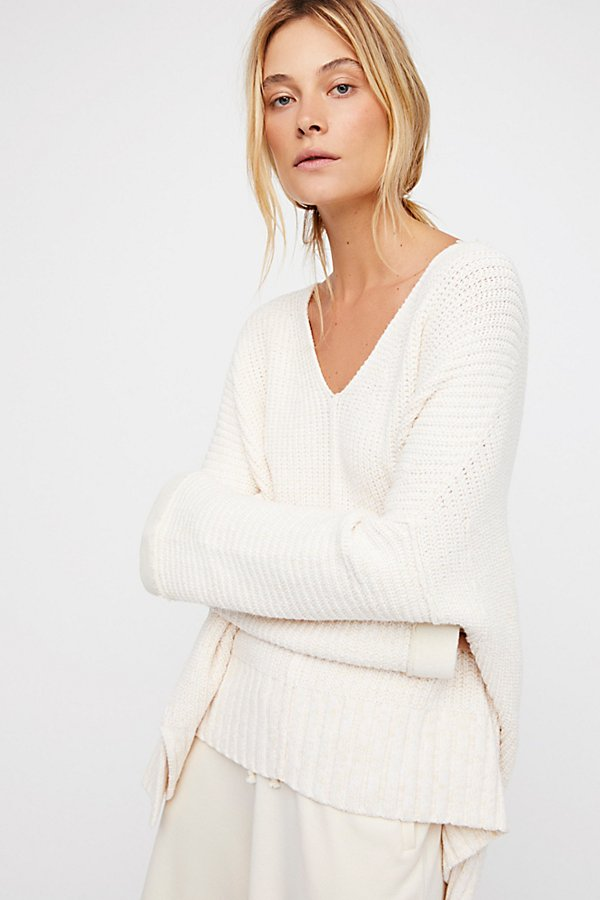 Take Me Over V-Neck Sweater by Free People