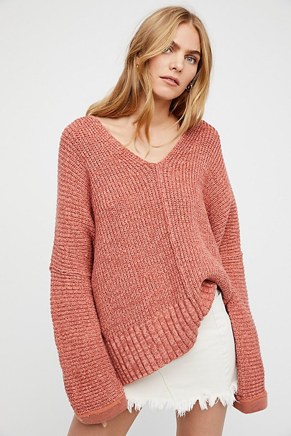 Slide View 1: Take Me Over V-Neck Jumper