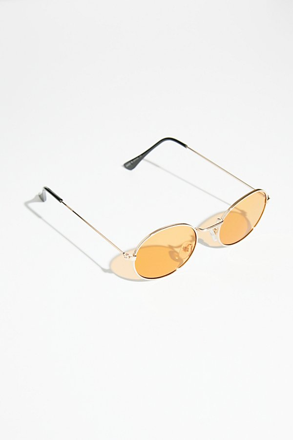 Slide View 2: Got A Crush Oval Sunnies