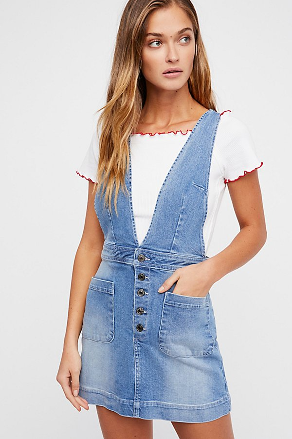 Slide View 1: Old School Love Pinafore Dress