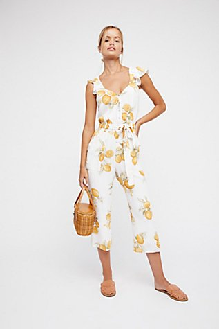 Lemons Jumpsuit Free People