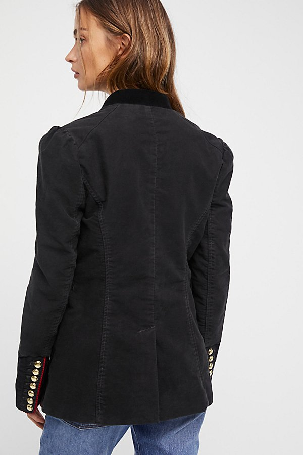Slide View 4: Seamed And Structured Blazer