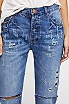 Thumbnail View 3: OneTeaspoon Hooligans Crop Flare Jeans