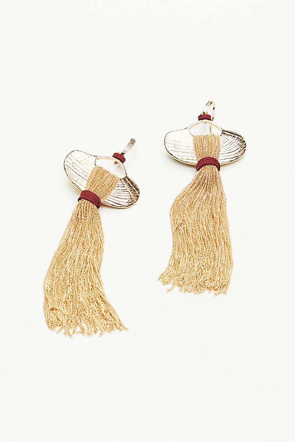 Slide View 2: Saint Rosa Fringe Earrings