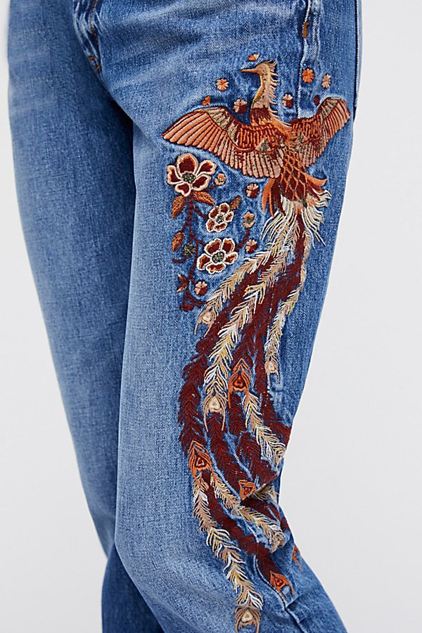 Slide View 7: Way Back When Embroidered Jean