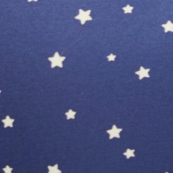 海军蓝星星图案