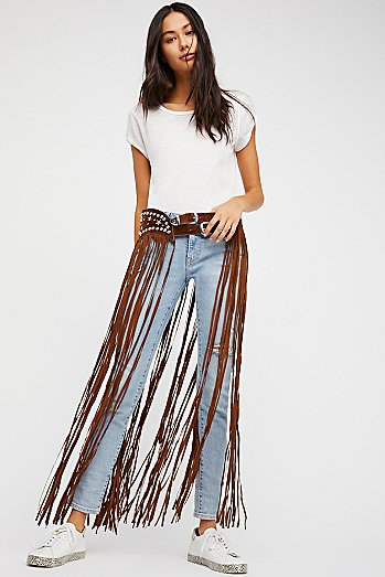 Paris Texas Maxi Belt