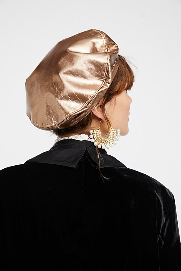 Slide View 2: Lolita Leather Beret