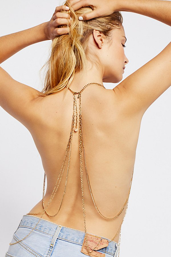 Slide View 2: Dripping in Pearls Halter