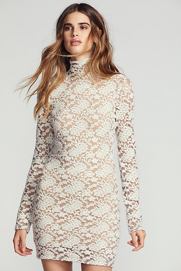 Slide View 1: Sweater Lace Bodycon