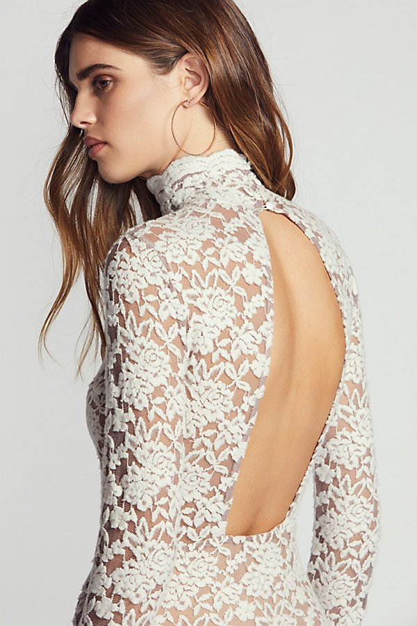 Slide View 4: Sweater Lace Bodycon