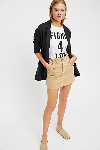 Corsette Mini Skirt